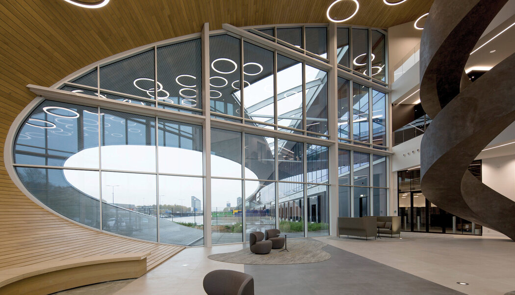 CW 50 Curtain Walls - Warehouse DC New Logic III located in Thouaré, the Netherlands