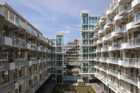 SlimLine 38 Windows, CP 130 (-LS) Sliding Systems and CW 50 Curtain Walls - Fenix I Rotterdam located in Rotterdam, the Netherlands