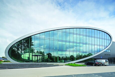 CW 50 Curtain Walls - Warehouse DC New Logic III located in Tilburg, the Netherlands