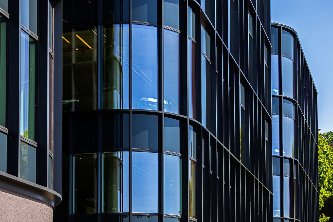 CW 65-EF Curtain Walls - Business center River Hall located in Lithuania