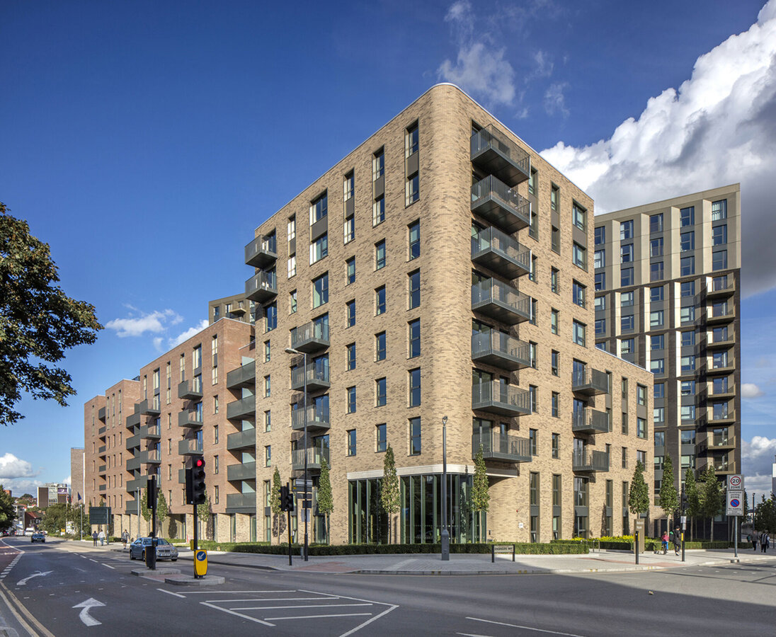 CP 155 (-LS) Sliding Systems and CW 50 Curtain Walls - Wembley Park located in London, United Kingdom