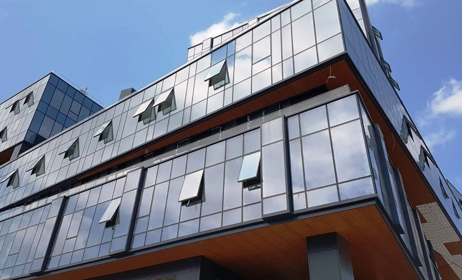 CW 50-SC Curtain Walls - Office building Volume Istanbul located in Turkey